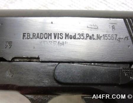 fb radom vis mod 35 serial number r9121
